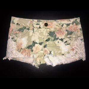 Mossimo Supply Co. - flower patterned shorts